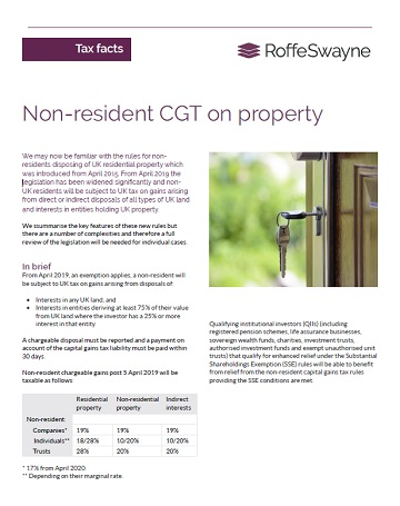 non-residential CGT on property thumbnail